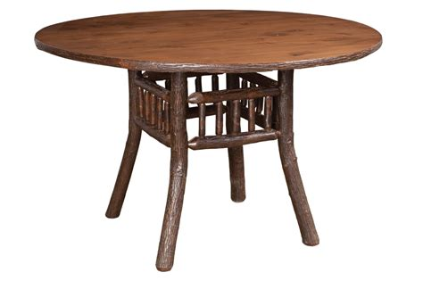 3 foot round table hickory lake lodge dining table available in 3 3 1 2