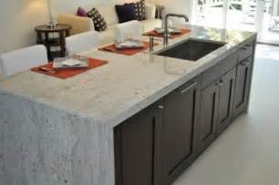 hgtv kitchen islands granite waterfall island home sweet home