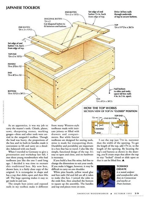 japanese woodworker tool box woodworking projects plans japanese wood objects
