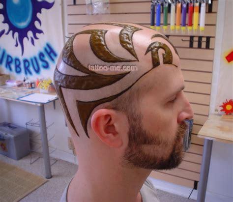 head henna tattoo