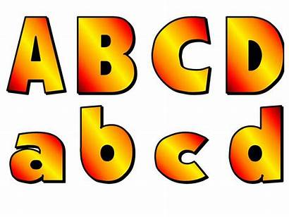 Bubble Letters Abc Lowercase Fall Uppercase Alphabet