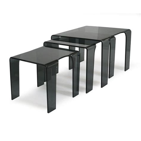 table gigogne verre table gigogne en verre tank