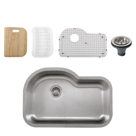 single kitchen sink accessories ticor s113 undermount 16 stainless single bowl