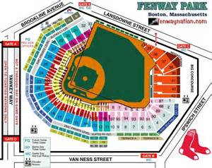 Boston Red Sox Seating Chart Fenway Seating Fenwaynation Fenway Park Seating Chart