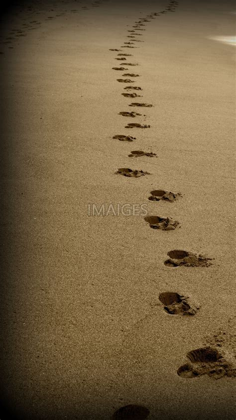 Footprints In The Sand Wallpaper (49+ Images
