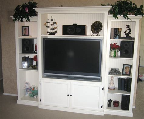 diy built in entertainment center our new custom built diy entertainment center for 8747