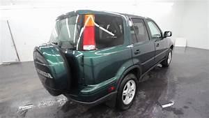 2001 Honda Cr V Green