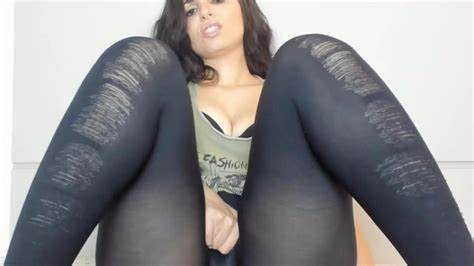 Cam Dark Leggings On Dorm