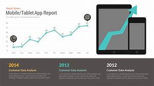 Mobile  Tablet Report Free Powerpoint  Keynote Template