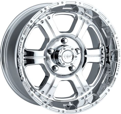pro comp wheels and tires 1089 6865 pro comp series 1089 polished finish alloy wheel for jeep