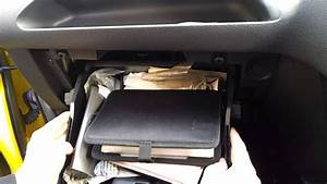 Ford Fiesta 2007 Glovebox Removal