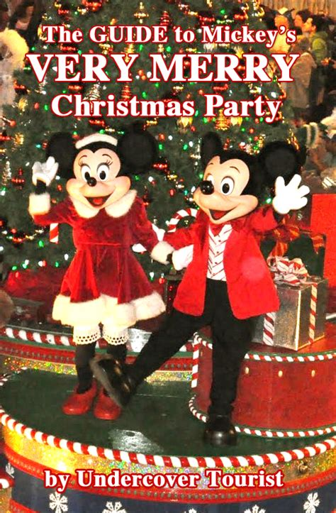 mickey christmas party guide to mickey s merry 2017