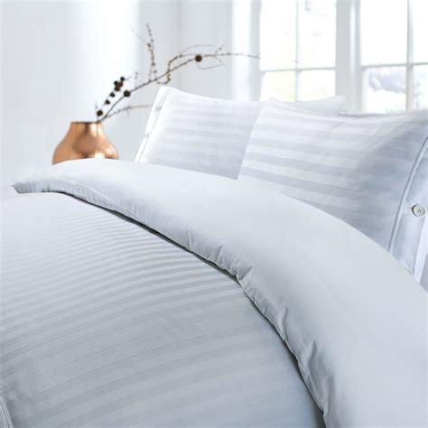 luxury hotel quality egyptian cotton satin stripe