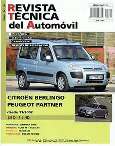 Manual De Taller Y Mecanica Citroen Berlingo  Peugeot Partner Rt180
