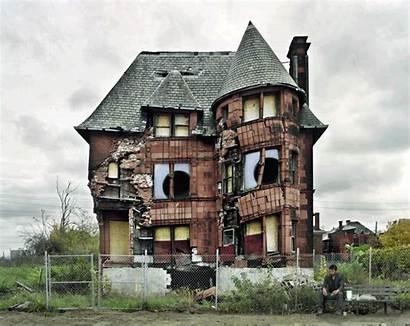 Detroit Abandoned Creepy Psbattle Nice Property Water