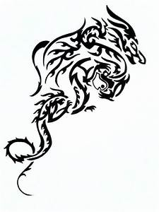 Black And White Dragon Pictures - ClipArt Best