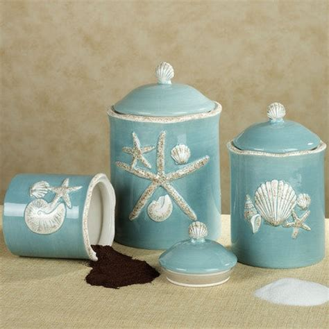 kitchen decorative canisters coastal canisters coastal decorative accessories