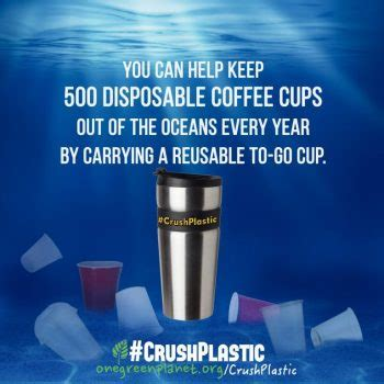 Exles Of Using Your Own Initiative by Join One Green Planet S Crushplastic Movement One