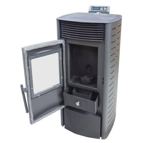 ventilateur chambre poêle à granulés 9 kw insert à pellets de bois cheminée