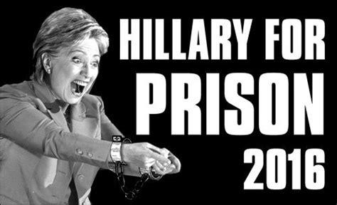 Anti Hillary Clinton Memes 2018 - hillary for prison 2016 shirt represent
