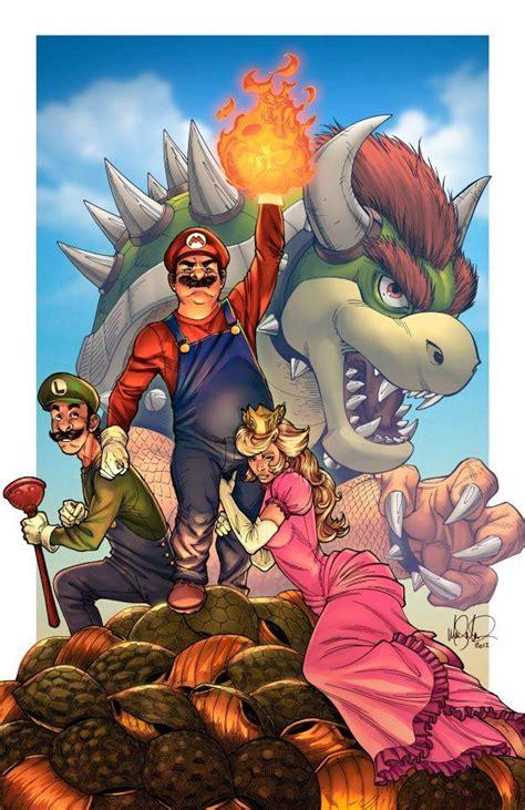 Best Video Game Fan Art Nintendo Mario Super Mario