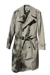 sale  double breasted military trench raincoat wliner