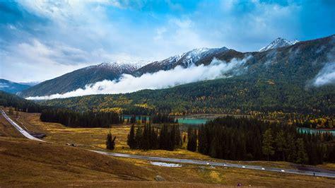 Kanas Lake Xinjiang China Travel Photo Hd Wallpaper 06