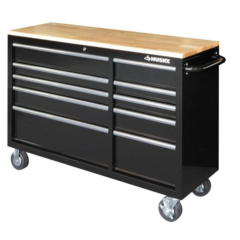 husky rolling tool cabinet chest box    drawer