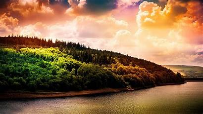 Screen Nature Wallpapers Sky Wide