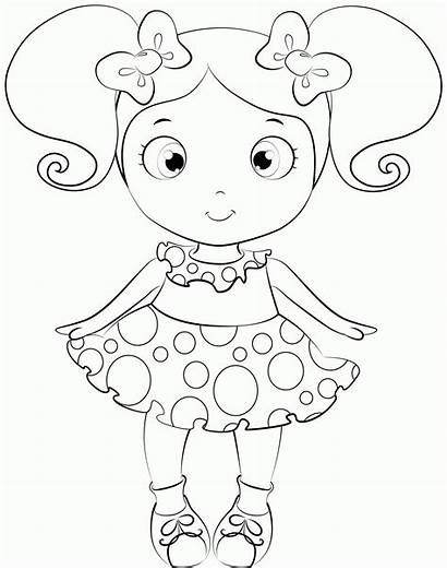 Doll Coloring Lol Printable Dolls Surprise American