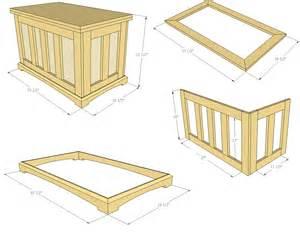 how to build a pocket hole blanket chest jays custom creations