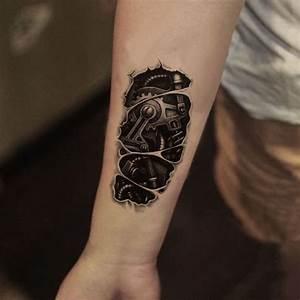 Tattoos Männer Unterarm : 1001 ideen und ispirationen f r ein cooles biomechanik tattoo tattoos pinterest ~ Frokenaadalensverden.com Haus und Dekorationen