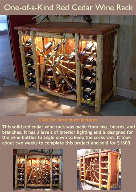kind handmade rustic cedar furniture lodge