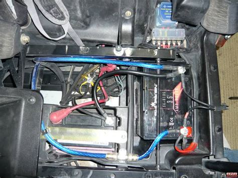 dual battery installation page  polaris rzr forum