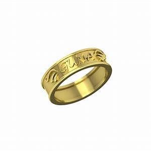 personalized name ring gold name rings for men With wedding rings with names engraved india
