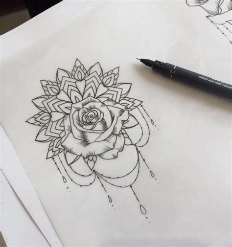 top tattoos tattoos rose tattoos mandala wrist