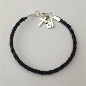 1st communion gifts for boys boys fashionable trendy leather communion bracelet