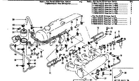 efi components efi air devices efi fuel device pre aug 77