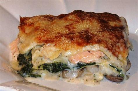 lasagne au saumon et aux crevettes les recettes de virginie
