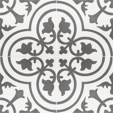 black and white cement tile granada cement tile cluny 888c design contemporary