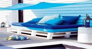 Fabriquer Un Canapé En Palette : canap s en palette pour les nuls en bricolage deco cool ~ Voncanada.com Idées de Décoration
