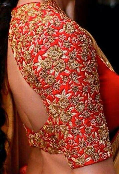 fascinating blouse design   indian