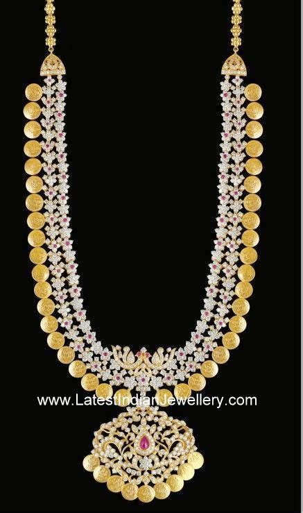 diamond kasulaperu haram latest indian jewellery designs