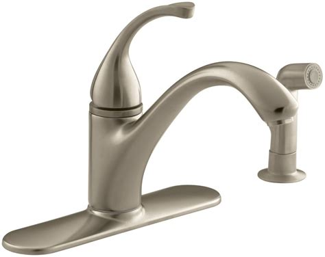 Kohler K-10412-bv Brushed Bronze Single Handle Kitchen