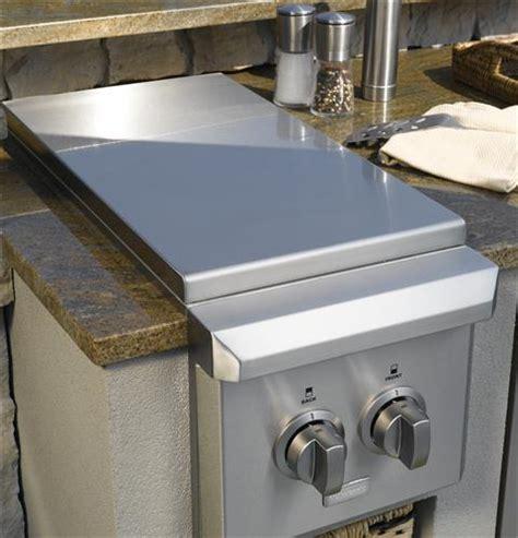 monogram dual burner outdoor cooktop natural gas zgunpss ge appliances
