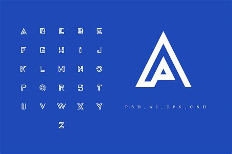 a z logo alphabet pack by sagesmask thehungryjpeg com