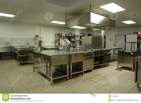 cuisine de chef cuisine professionnelle avec le cuisinier de chef image