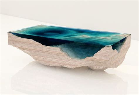 splendid topographic tables furniture design glass