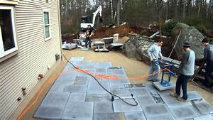 Best Way To Lay Large Paving Slabs YouTube