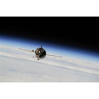 Soyuz Spacecraft Approaches International Space StationNASA